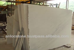 white marble slab with black veins, natural marble