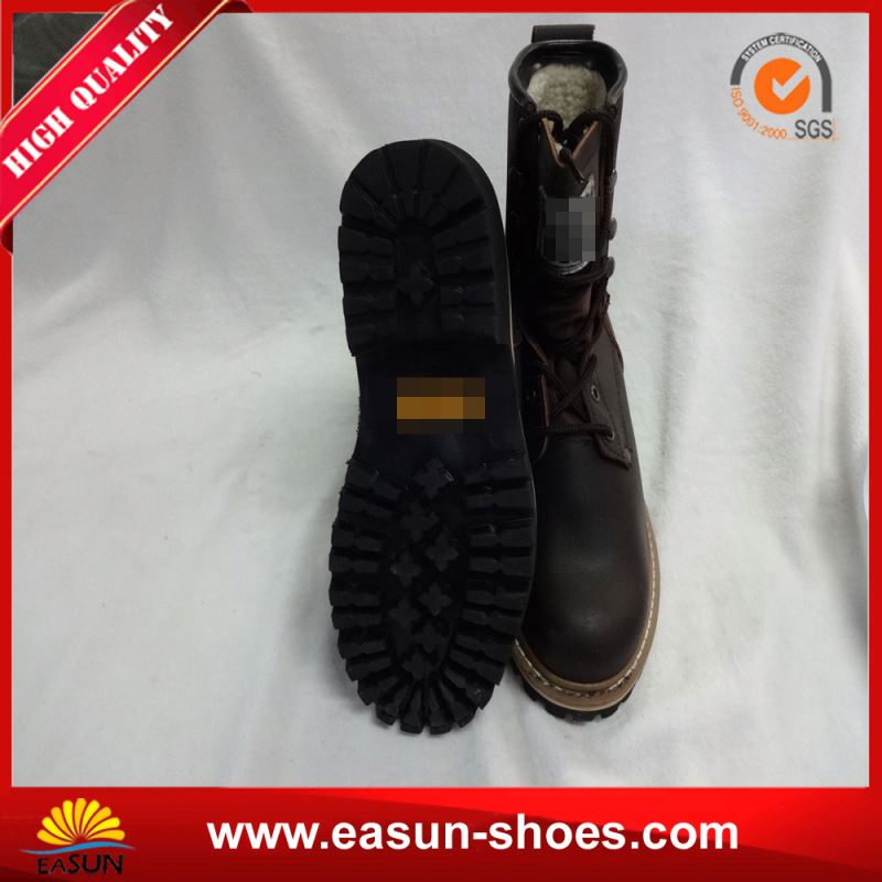 Steel toe logger boots steel insole safety logger boots logger boots for engineers