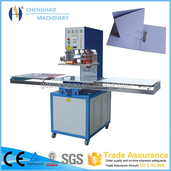 Hot Sale ring binders machine high frequency plastic pvc welding machine