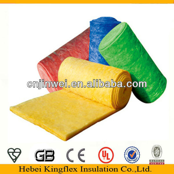 Fiberglass wool blanket for Construction Via CE