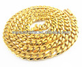 Big gold plated chain necklace for men, fashion gold plated chain