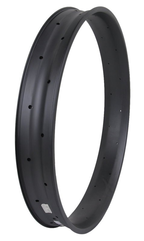 Guangdong High End 80mm Wide Carbon Fat Tire Rims 26