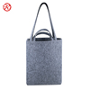 Eco-friendly handmade felt shoulder bag tote bag with double handle for lady