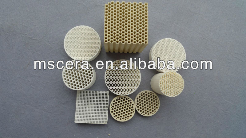Excellent manufacturer cordierite honeycomb ceramic substrate