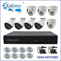 China DVR Manufacturer Security Camera System 720P 8CH CCTV AHD DVR Kit