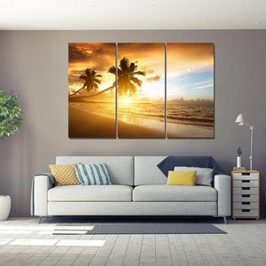 Custom digital photo printing on canvas wholesale stretched hotel decor art work
