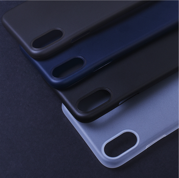 HIGH QUALITY Ultrathin Semitransparent phone case for iPhone 8