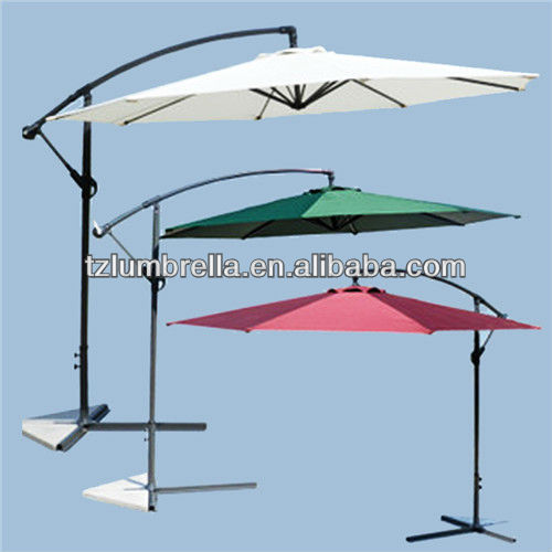 Offset Outdoor Umbrellas in China