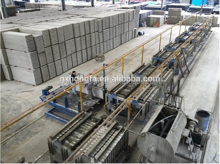 Partition wall building material EPS sandwich panel making machine