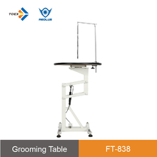 FT-838 Height Adjustable dog grooming supplies air lift light weighted dog grooming table