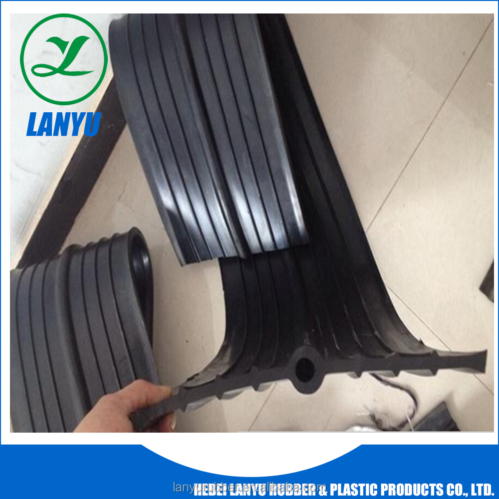 China Lanyu rubber waterstops used for concrete joint