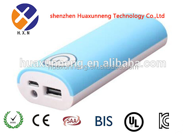 2015 new design 4400mAh power bank for all mobile phone