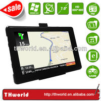 HOT SALE 7 INCH 800MHZ NAVIGATOR WITH 8GB MEMORY TRUCK GPS MAP ONLY $35.50