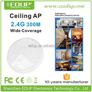 Factory Supply 300Mbps In Wall Access Point Ceiling AP for Hotel Office Mall