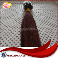 Unprocessed Virgin Human extension micro loop 100% human hair extension