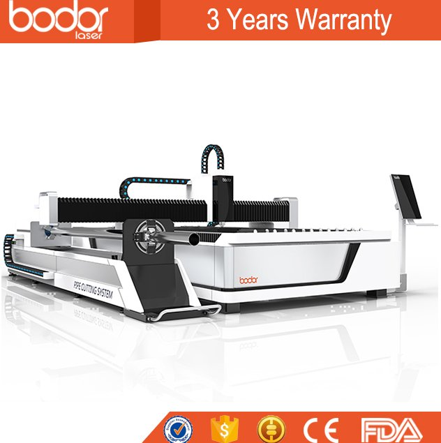 Factory directly supply CNC Fiber Laser Cutting Machine price from Jinan Bodor metal laser cutting machine