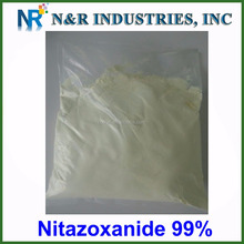GMP factory supply high quality nitazoxanide in stock