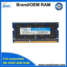 Tested laptop ram memory 1600 ddr3 8gb