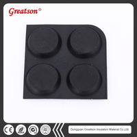 Customized Durable Natural Stickiness Rubber Feet For Chair