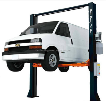 Low price and high quality 5T 2 post vehicle hoist and jack lift with CE