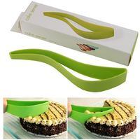 Bread Slice Cake Pie Slicer Sheet Guide Cutter Server