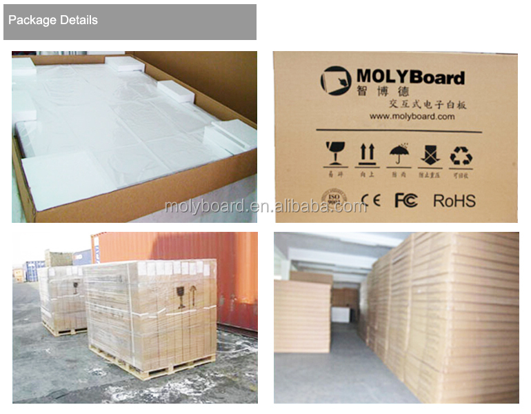 MOLYBoard LED all in one touch screen monitor tv pc 55'-84""