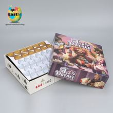 Logo Printed Waterproof carton board game and plastic