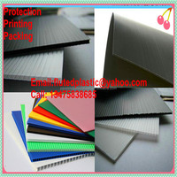 Corrugated Corflute plastic sheet/PP hollow sheet/Correx board for flooring wall surface protection