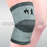 Bamboo charcoal fiber knitting knee wrap
