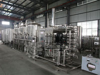 10T/H Industrial Water Treatment System With Reverse Osmosis Device