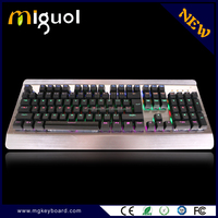 2016 Newest wired usb gaming Mechanical Keyboard with backlight computerl keyboard