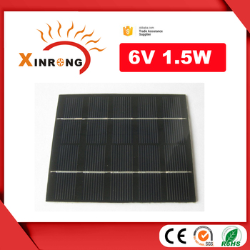 ZheJiang 6 Volt PET Lamination Solar Panel for LED Solar Light