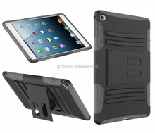 Triple defender Belt clip stand cover for iPad mini 4 Pad