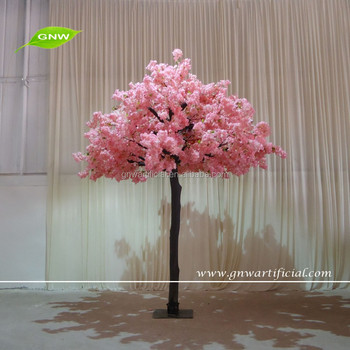GNW 2016 new artificial indoor silk cherry blossom tree for wedding garden decoration
