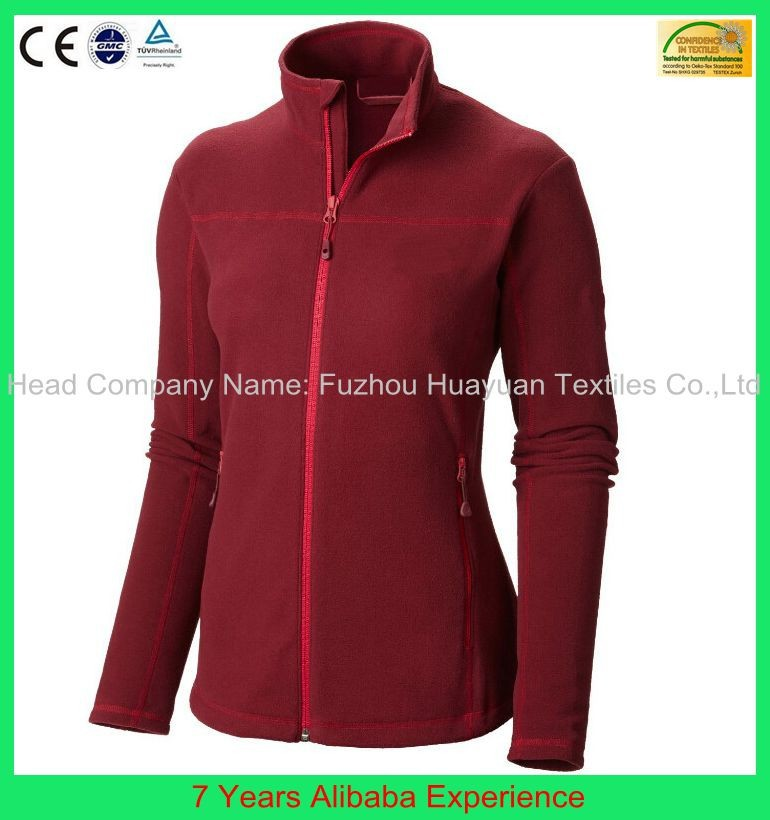 Promotional wholesale microfleece jackets made in China-- 7 Years Alibaba Experience