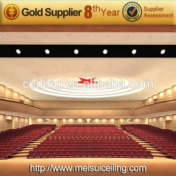 2014 Meisui GRG artistic gypsum composite board fiberglass fire proof wall panels