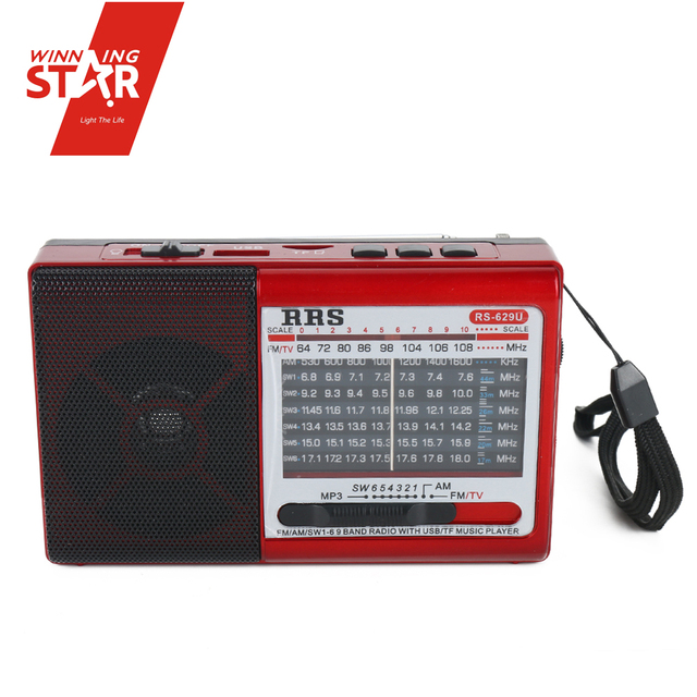 Multi Band Shortwave Radio Wireless Bicycle Radio Mp3, Stereo Radio Cassette Recorder From Yiwu