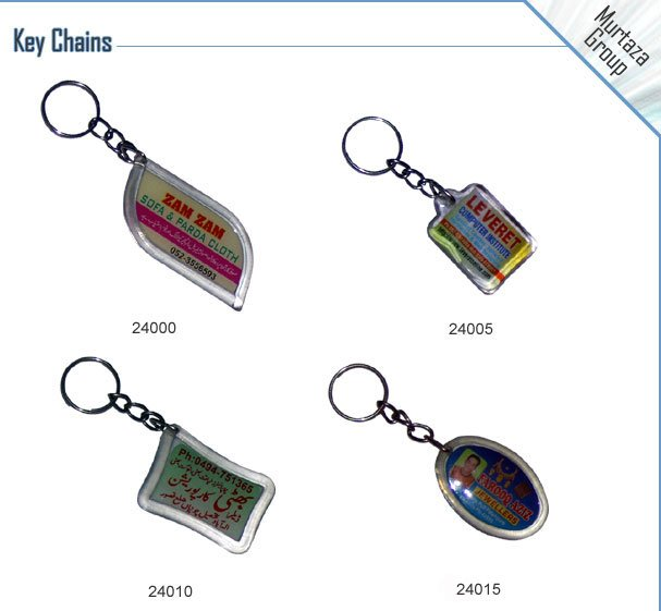 Key Chains, Key Rings, Promotional Items