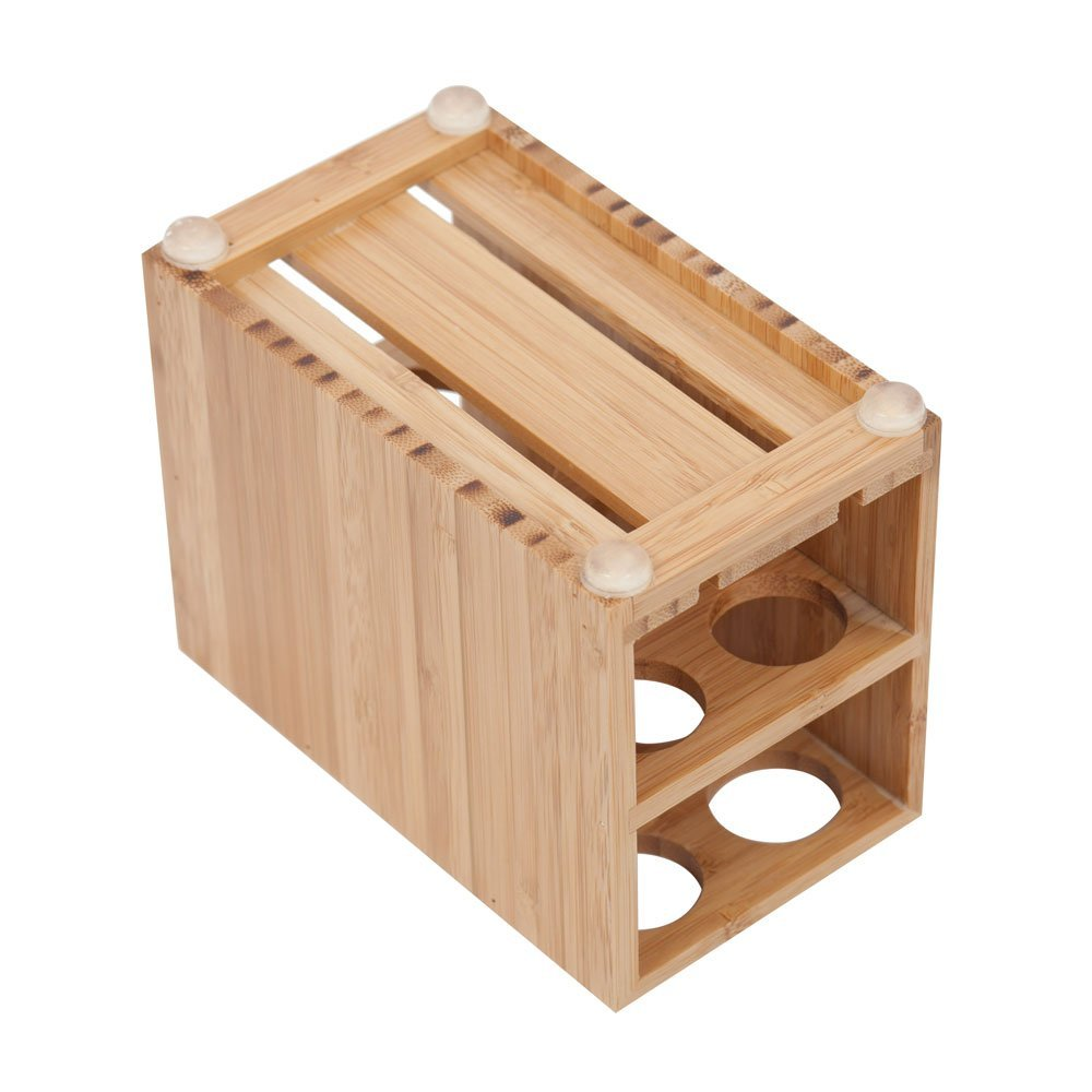 Toothbrush and Toothpaste Holder Stand for Bathroom Vanity Storage, Bamboo, 5 slots_.jpg