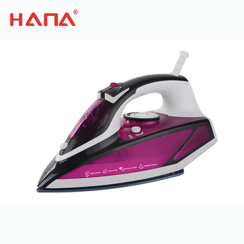 New Design Non-stick coating Self-cleaning with indicator light temperature adjustable steam iron