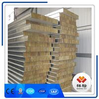 2018 hot sale Rock Wool Sandwich Panel Type Rock Wool Sandwich Wall Panel 150mm