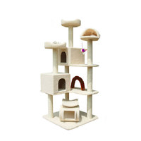 New Product Deluxe Luxurious Cheap Wooden Cat Tree