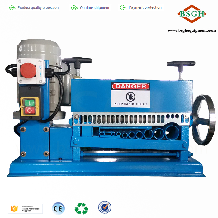 Low price of manual wire stripping machine non-automatic copper wire peeling machine buyer in Ukraine with wholesale price