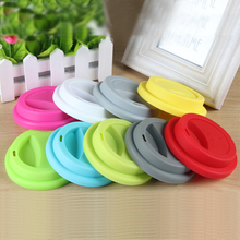 Food Safe And Reusable Silicone Lid Covers for Pots Cups Mugs