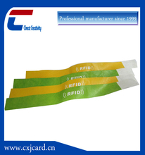High quality with competitive price of Fabric woven RFID wristband tags
