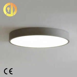 led recessed flush mount color changing led surface mounted round led acrylic ceiling light