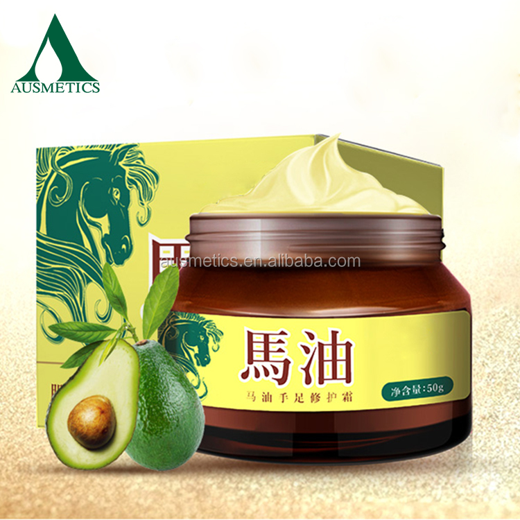 Best selling skin care products whitening anti wrinkle cream pure horse oil cream