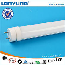 Hot sale wholesale high lumen t8 led ping tube 18w 3 years warranty with ETL TUV SAA CE ROHS DLC LCP approval