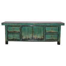 Chinese Antique Furniture Recycle Wood high glossy painted TV stand