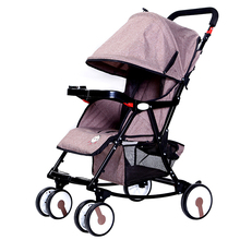 Strong capella baby stroller with big wheels